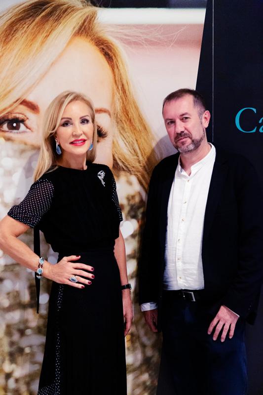 Carmen Lomana con Francis Magan
